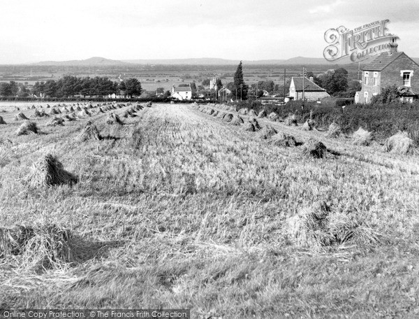 Photo of Woolavington, View From The Prince Of Wales c.1960