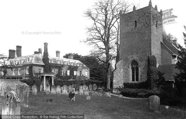 Photo of Woolbeding, The House And All Hallows Church 1906