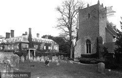 The House And All Hallows Church 1906, Woolbeding