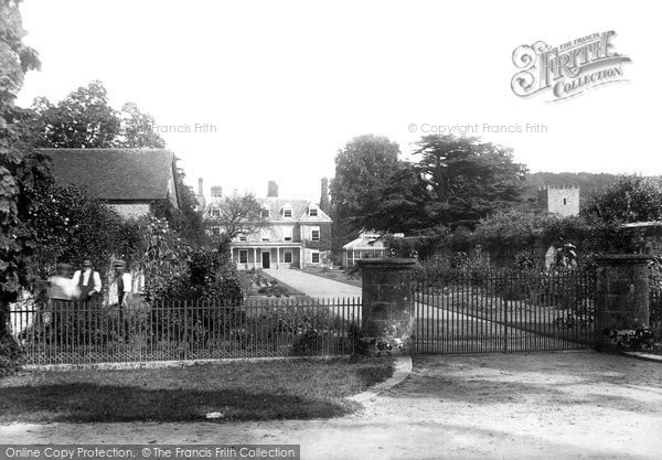 Photo of Woolbeding, The House And Church 1898