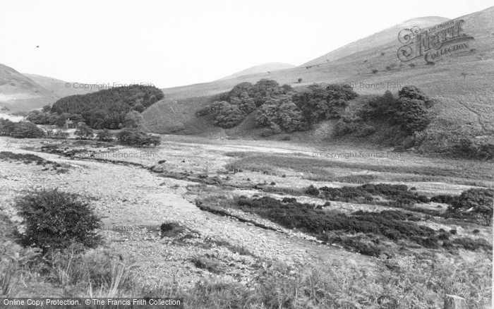 Photo of Wooler, College Valley South c.1955