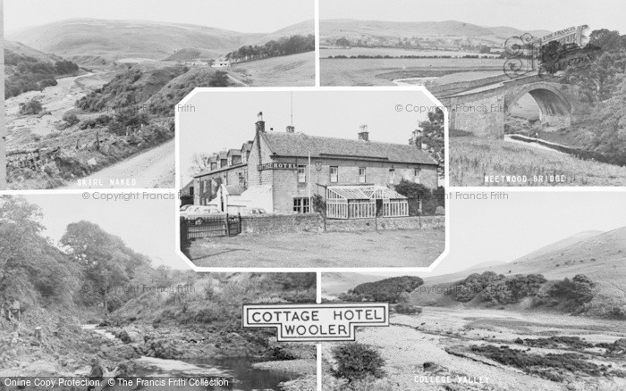 Photo of Wooler, Cottage Hotel Composite c.1960
