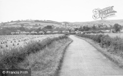 From Chatton Road c.1955, Wooler