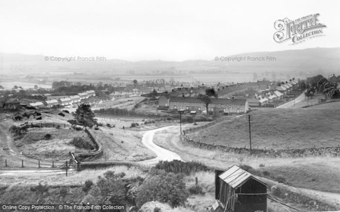 Photo of Wooler, General View c.1960