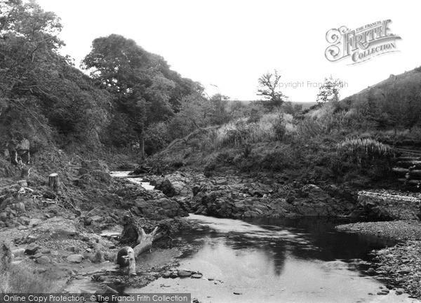 Photo of Wooler, Happy Valley c.1955
