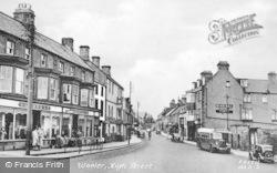 High Street c.1955, Wooler