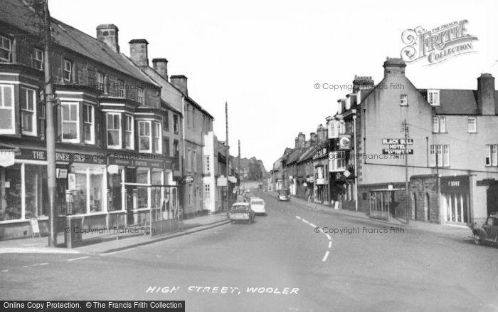 Photo of Wooler, High Street c.1960