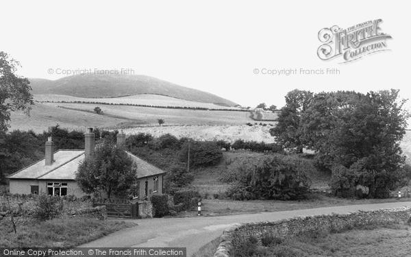 Photo of Wooler, Humbleton Hill c.1955