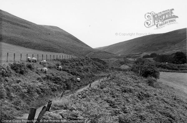 Photo of Wooler, Langleeford Valley c.1955