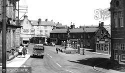 Market Square c.1960, Wooler