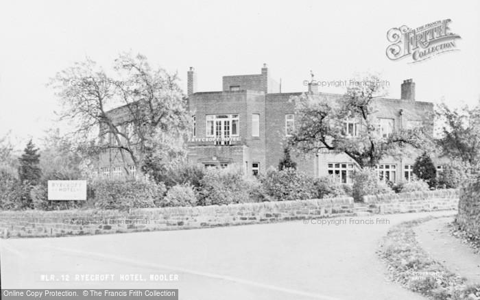 Photo of Wooler, Ryecroft Hotel c.1955