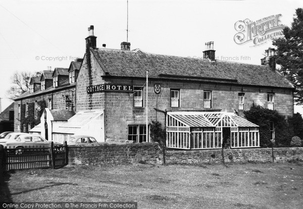 Photo of Wooler, The Cottage Hotel c.1960