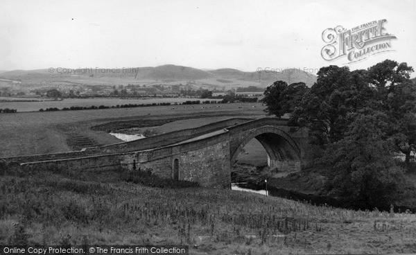 Photo of Wooler, Weetwood Bridge c.1955