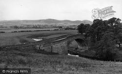 Weetwood Bridge c.1955, Wooler