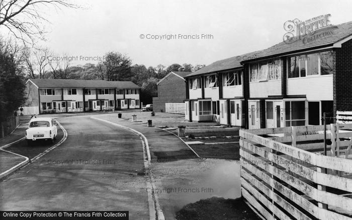 Photo of Woolhampton, Angel Mead c.1965