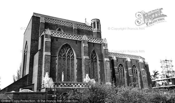 Photo of Woolhampton, Douai Abbey Church c.1965