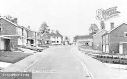 Woolhampton, Orchard Close c.1965