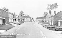 Orchard Close c.1965, Woolhampton