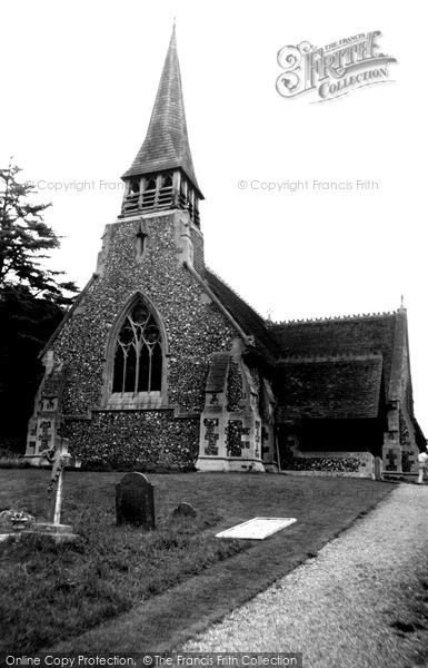 Photo of Woolhampton, St Peter's Church c.1960