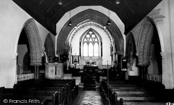 Woolhampton, St Peter's Church Interior c.1965
