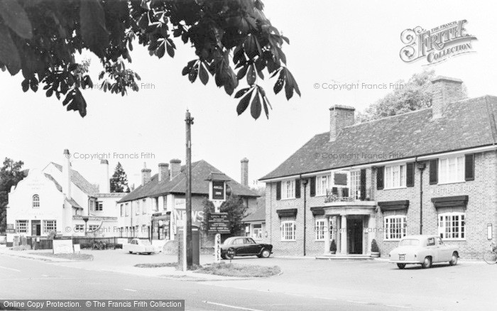 Photo of Woolhampton, The Angel Inn c.1960