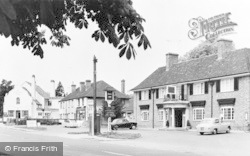 Woolhampton, The Angel Inn c.1960
