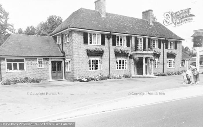 Photo of Woolhampton, The Angel Inn c.1965