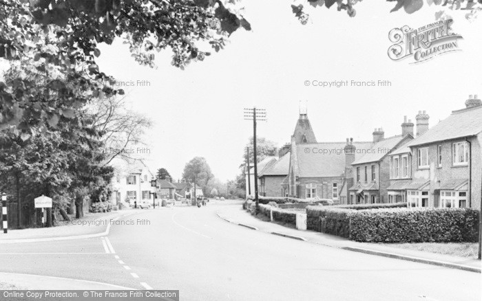 Photo of Woolhampton, The Approach To The Village From The West c.1960