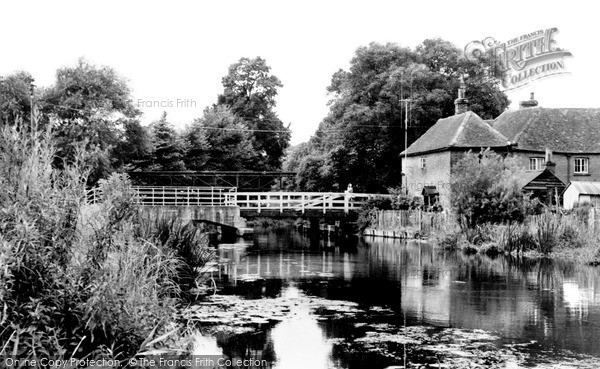 Photo of Woolhampton, The Canal c.1960