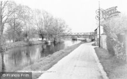 Woolhampton, The Canal c.1965