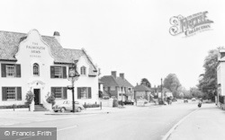 The Falmouth Arms And Village c.1960, Woolhampton