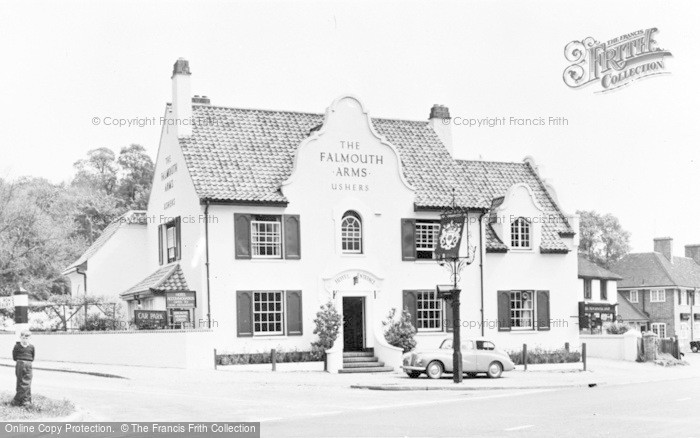 Photo of Woolhampton, The Falmouth Arms c.1960