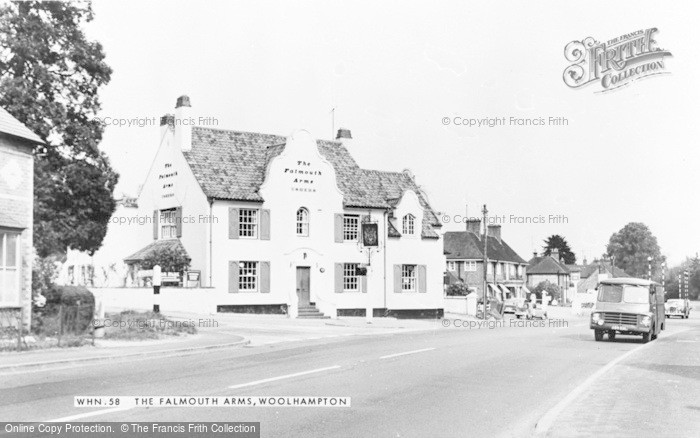 Photo of Woolhampton, The Falmouth Arms c.1965