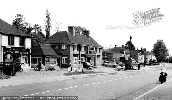 Photo of Woolhampton, The Village c.1960
