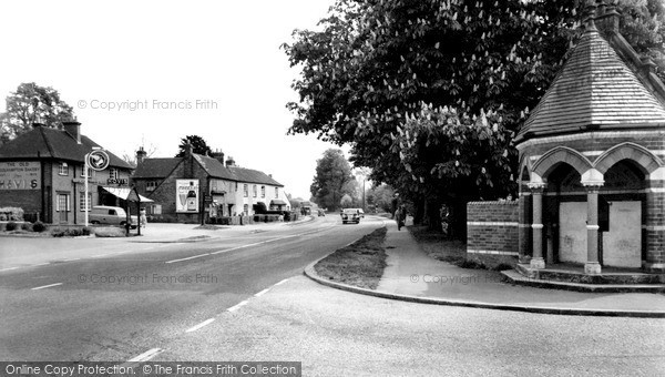 Photo of Woolhampton, The Village c.1960