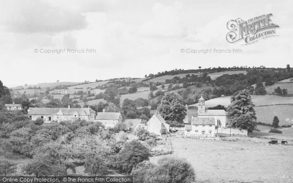 Photo of Woolley, The Village c.1960