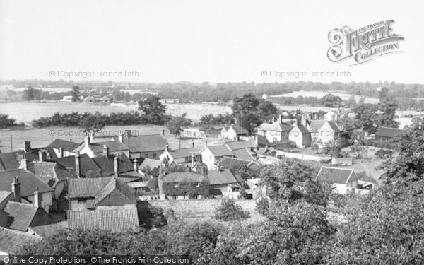 Photo of Woolpit, General View c.1955