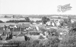 Woolpit, General View c.1955