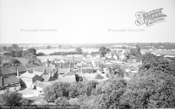 Photo of Woolpit, General View c.1960