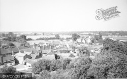 Woolpit, General View c.1960