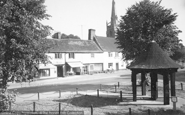 Photo of Woolpit, Post Office c.1960