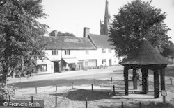 Woolpit, Post Office c.1960