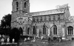 Woolpit, St Mary's Church 1950