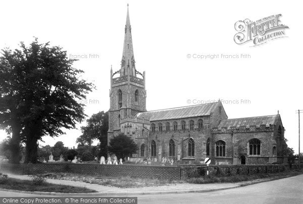 Photo of Woolpit, St Mary's Church c.1950