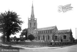 Woolpit, St Mary's Church c.1950