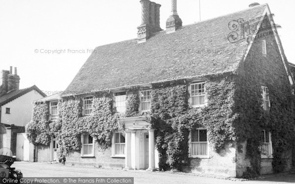 Photo of Woolpit, The Doctors House c.1955