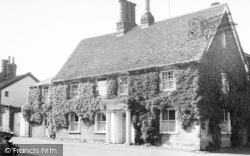 Woolpit, The Doctors House c.1955