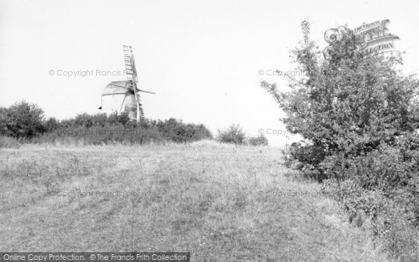 Photo of Woolpit, The Old Windmill c.1960