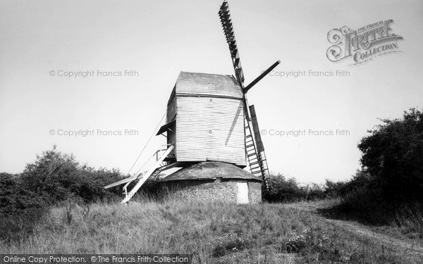 Photo of Woolpit, the Old Windmill c1960