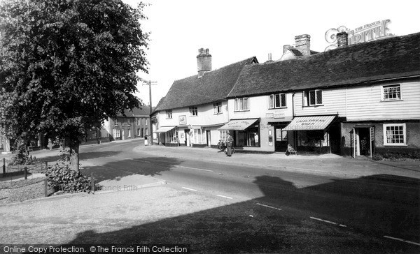 Photo of Woolpit, The Post Office c.1960